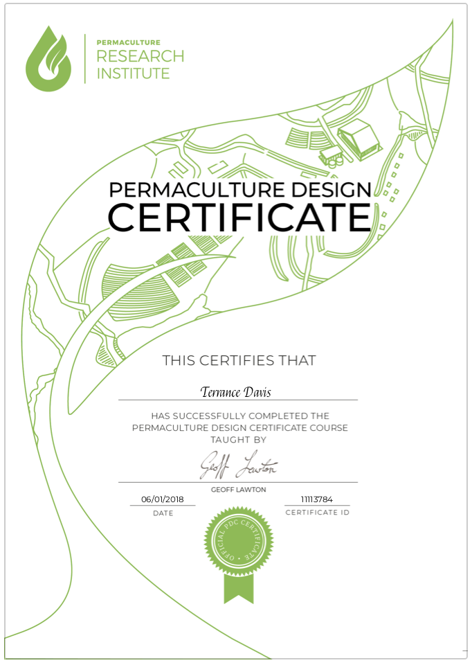 PDC Certificate